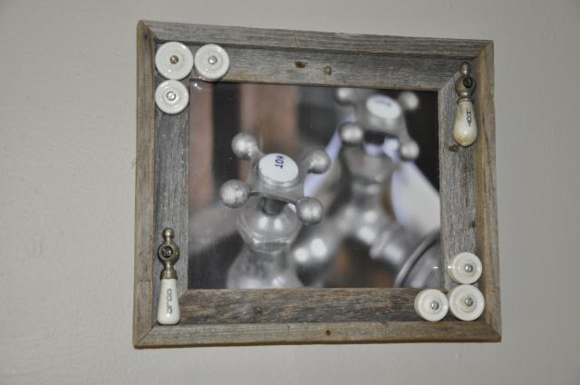 vintage faucet photo framed