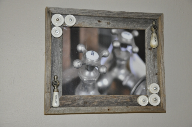 vintage faucet photo framed