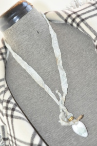 Shabby Chic vintage bulb necklace